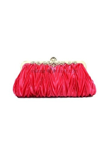 Watermelon Stain Rhinestone Special Occasion Handbags/Clutches