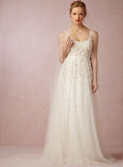 Molto Vestito da Sposa Economico On line Stile Impero Scollatura  UY24