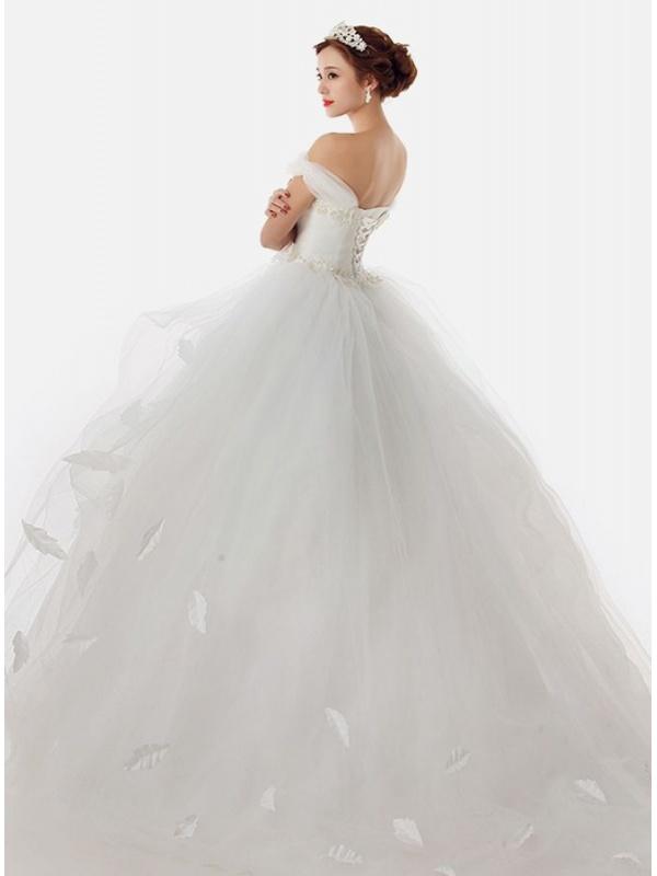 Abiti da sposa con maniche a palloncino